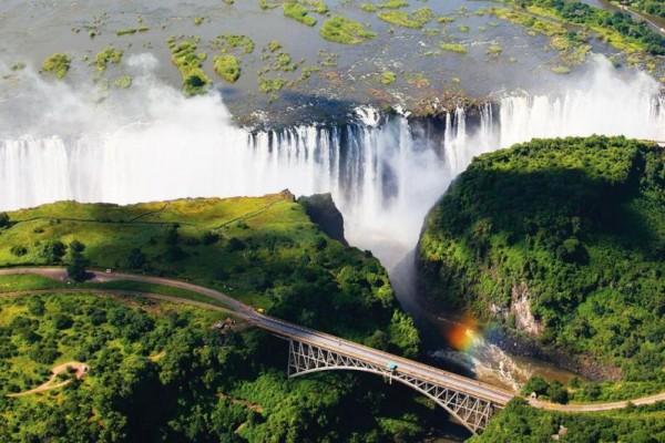 Экскурсия на Водопад Виктория из Зимбабве