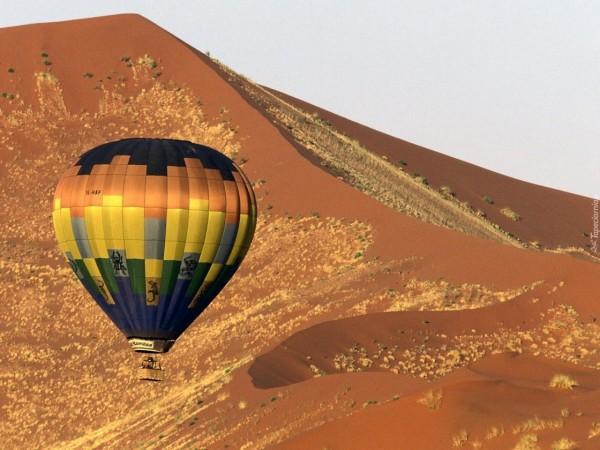 Отдых в Намибии, Соссусфлей - полет на воздушном шаре