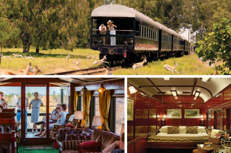 Ретро-поезд Rovos Rail, путешествие по Южной Африке