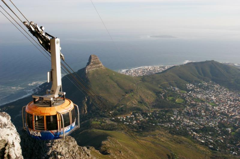Столовая гора, Кейптаун, Южная Африка