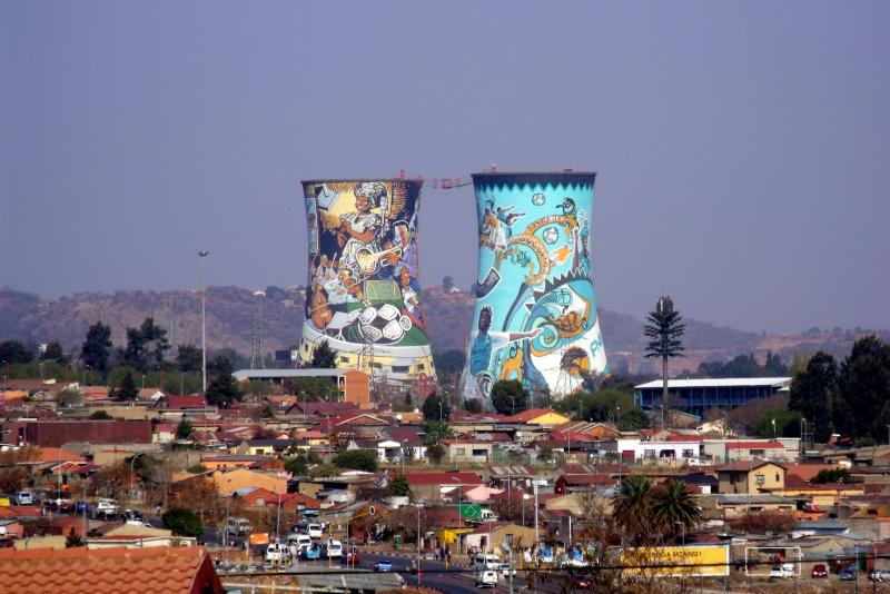 Приключенческий тур по ЮАР, Йоханнесбург